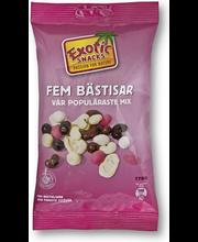 Exotic Snacks Viisi parasta ystävää