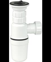 Gelia vesilukko ja pohjaventtiili 32mm muovia valkoinen