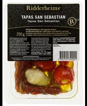 Ridderheims 200g Tapas San Sebastian