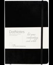 Burde muistikirja DotNotes, musta, FSC Mix