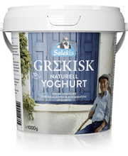 Salakis 1kg Kreikkalainen Jogurtti 19%