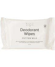 Topz 15 pcs cotton mild deodorantti wipe