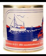 Nordvågs 850/500g silliä maustekastikkeessa