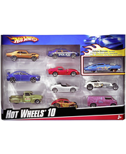 Hw basic car 10 pack 5488