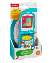 Fisher-Price – Friendly Flip -läppäpuhelin