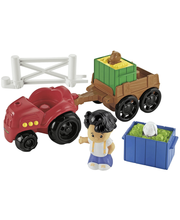 Fisher-Price – Little People -traktori ja -peräkärry