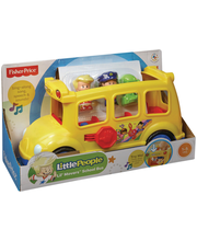 Fisher Price Little People koulubussi