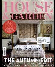 House and Garden aikakauslehti