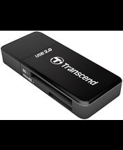 Transcend 9in1-kortinlukija. USB 2.0 High-Speed