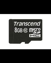 Transcend 8GB MicroSDHC muistikortti class10
