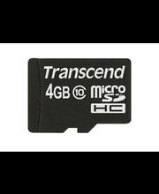 Transcend 4GB MicroSDHC muistikortti class10