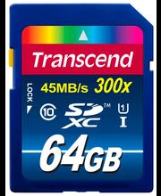 Transcend 64 GB UHS-1 muistikortti