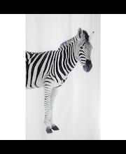 Spirella Zebra suihkuverho 180x200cm