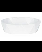 Spirella Crystal saippua-alusta valkoinen