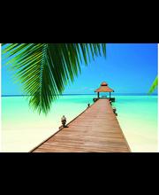Idealdecor valokuvatapetti Paradise Beach 00284, 8-osainen, 366 x 254 cm
