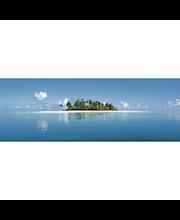 Idealdecor valokuvatapetti Maldive Island 00369, 4-osainen, 366 x 127 cm