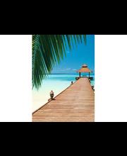 Idealdecor valokuvatapetti Paradise Beach 00376, 4-osainen, 183 x 254 cm
