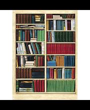 Idealdecor valokuvatapetti Bibliothéque 00401, 4-osainen, 183 x 254 cm