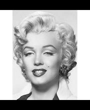 Idealdecor valokuvatapetti Marilyn Monroe 00412,  4-osainen, 183 x 254 cm        mustavalkoinen
