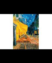 Idealdecor valokuvatapetti Terrasse de Café la Nuit 00420, 4-osainen, 183 x 254 cm