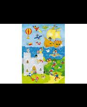 Idealdecor valokuvatapetti It's a Boy's World 00428, 4-osainen, 183 x 254 cm