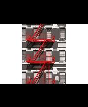Idealdecor valokuvatapetti Fire Escape 00432, 4-osainen, 183 x 254 cm