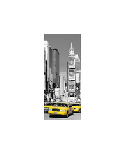 Idealdecor ovikuva NYC Times Square 00525, 1-osainen, 86 x 200 cm
