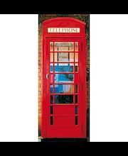 Idealdecor ovikuva Telephone Box 00549, 1-osainen, 86 x 200 cm