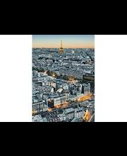 Idealdecor valokuvatapetti Paris Aerial View 00434, 4-osainen, 183 x 254 cm