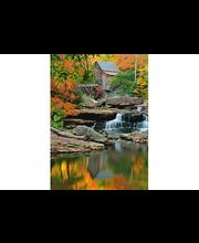 Idealdecor valokuvatapetti Grist Mill 00437, 4-osainen, 183 x 254 cm