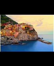 Idealdecor valokuvatapetti Cinque Terre Coast 00130, 8-osainen, 366 x 254 cm