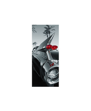 Idealdecor ovikuva Classic car 00551, 2-osainen, 86 x 200 cm