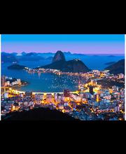Idealdecor non-woven valokuvatapetti Rio de Janeiro 00951, 8-osainen, 366 x 254 cm