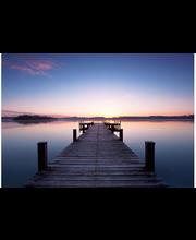 Idealdecor non-woven valokuvatapetti Pier at Sunrise 00953, 8-osainen, 366 x 254 cm