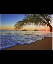 Idealdecor non-woven valokuvatapetti Pacific Sunrise 00955, 8-osainen, 366 x 254 cm