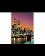 Idealdecor valokuvatapetti New York City 00389, 4-osainen (183 x 254cm) 00389