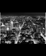 Idealdecor valokuvatapetti Midtown New York 00141, 8-osainen, 366 x 254 cm mustavalkoinen