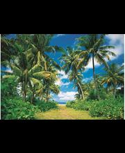 Idealdecor valokuvatapetti Island in the Sun 00273, 8-osainen, 366 x 254 cm