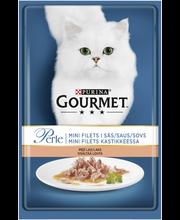 Gourmet 85g Perle Lohta Mini Filets kastikkeessa kissanruoka