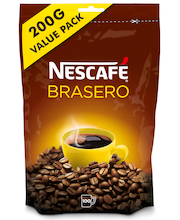 Nescafé Brasero 200g pikakahvi täyttöpussi