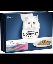 Gourmet 8x85g Perle Se...