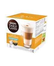 Nescafé Dolce Gusto 16kaps/168g Latte Macchiato Unsweetened maitokahvikapseli