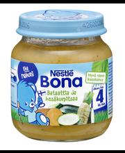 Nestlé Bona 125g Bataattia ja kesäkurpitsaa lastenateria 4kk