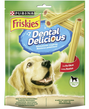 Friskies 200g Dental Delicious Medium & Large Naudanlihanmakuinen koiranherkku