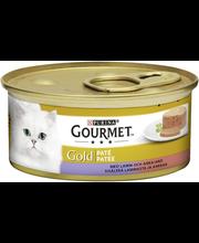 Gourmet 85g Gold Lammasta ja Ankkaa Patee kissanruoka