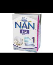 Nestlé Nan 200ml HA 1 maitopohjainen käyttövalmis äidinmaidonkorvike