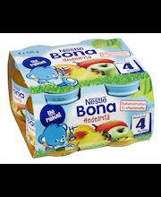 Nestlé Bona 4x125g Hedelmiä hedelmäsose 4kk