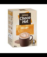 Nestlé 8kpl/192g Choco Hot Creamy maitokaakaojuomajauhe annospussi