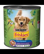Friskies 800g Naudanlihaa ja Sydäntä hyytelössä koiranruoka