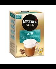 Nescafé 8kpl/144g Latte erikoispikakahvi annospussi